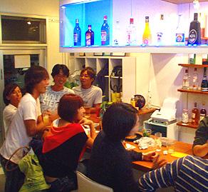 JAM's Barお客さんの賑やかな写真②